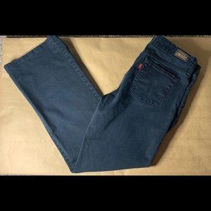 Levi's black 515 Bootcut Jeans Size 8P